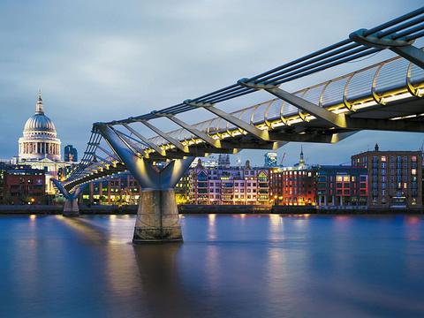 千禧桥旅游景点图片