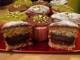 开心果蛋糕(tortine al pistacchio)