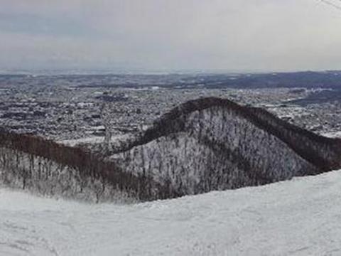 藻岩山滑雪场旅游景点图片