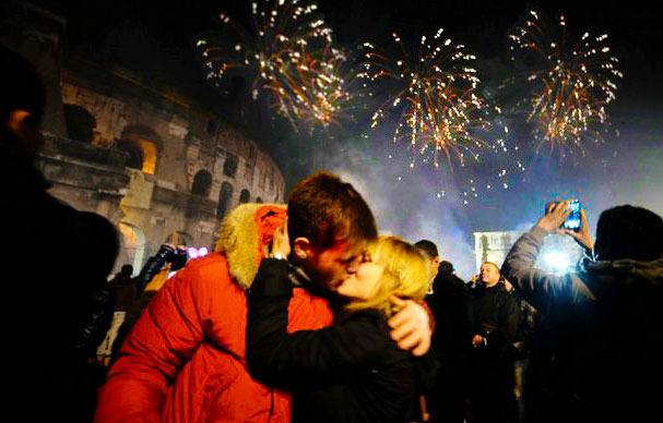 新年前夜(San Silvestro a Roma)