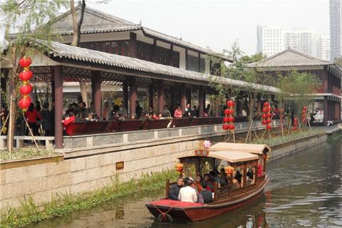 广州荔枝湾游船