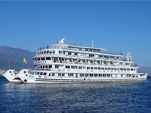洱海游船旅游景点图片
