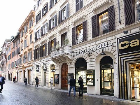 西班牙广场商圈旅游景点图片