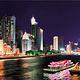 珠江夜游广州塔码头