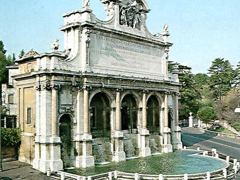 阿夸宝拉喷泉旅游景点图片