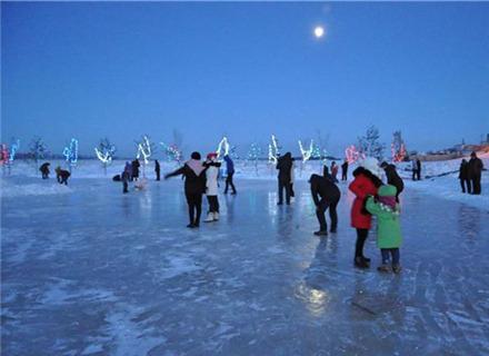 哈尔滨滚冰节