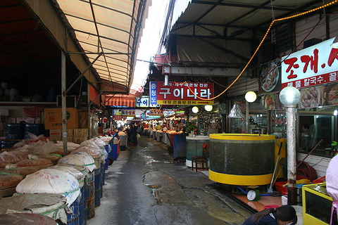 仁川综合水产市场