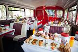伦敦巴士下午茶