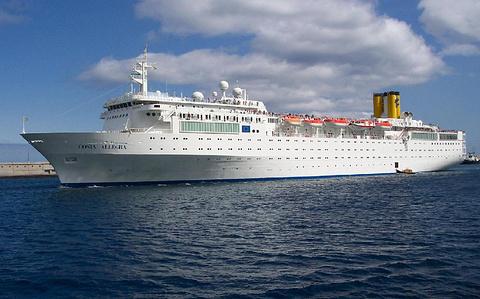 月尾岛游览船
