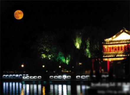 西湖中秋赏月晚会