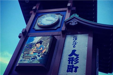 人形町商业街的图片