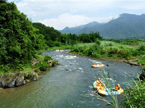 响水峡生态风景区旅游景点图片