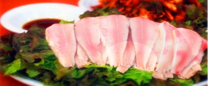 凉拌青鳞鱼片