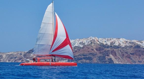 圣托里尼航海