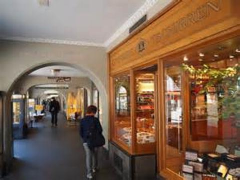 购物拱廊旅游景点图片
