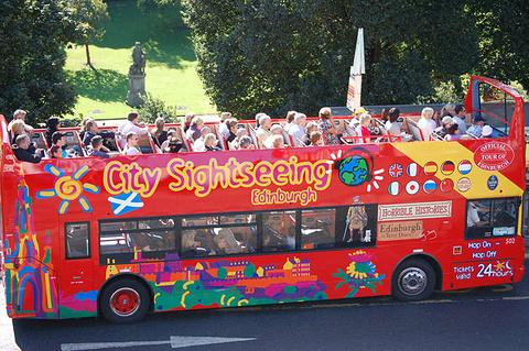 爱丁堡环城观光车