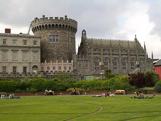 都柏林城堡旅游图片