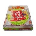 Okonomiyaki(お好み焼き)外形和口味的点心