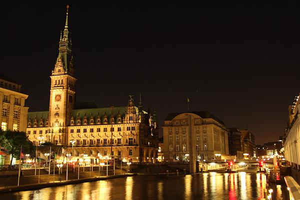 汉堡市政厅旅游图片