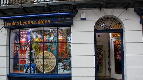 Beatles 纪念品店