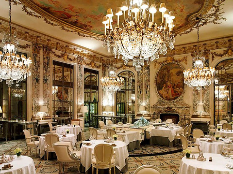 Restaurant Le Meurice旅游景点图片