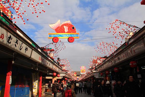 浅草寺旅游图片