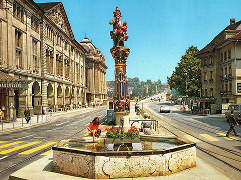 伯尔尼喷泉旅游景点图片