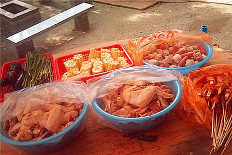 小洲村美味园烧烤场