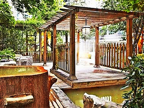 海棠晓月温泉旅游景点图片