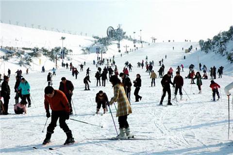 江南天池滑雪场