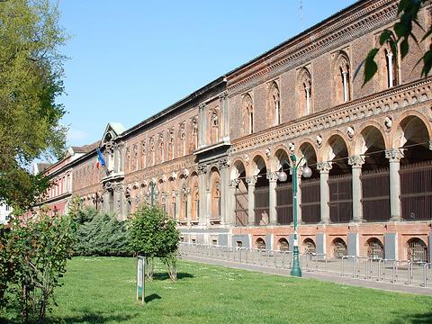 米兰大学旅游景点图片