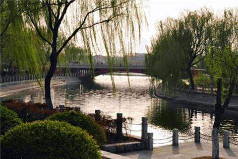 赵王河公园
