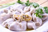 大馅鲅鱼饺子