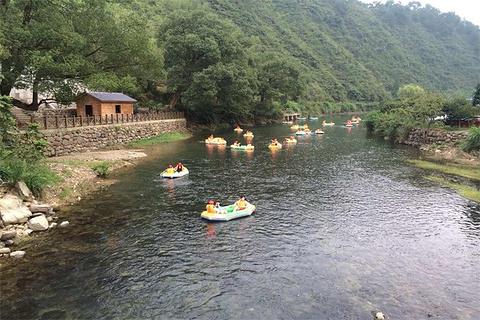 千岛湖九龙溪漂流