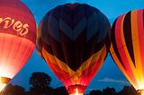 乘坐热气球