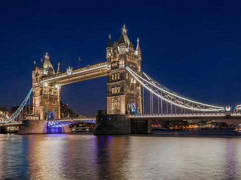 伦敦塔桥旅游景点图片