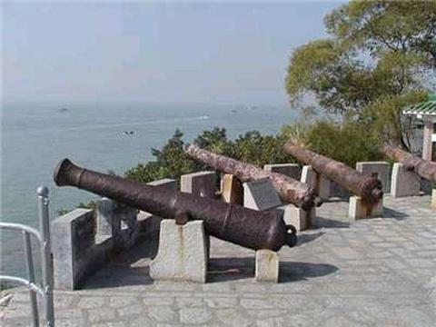 白石炮台遗址