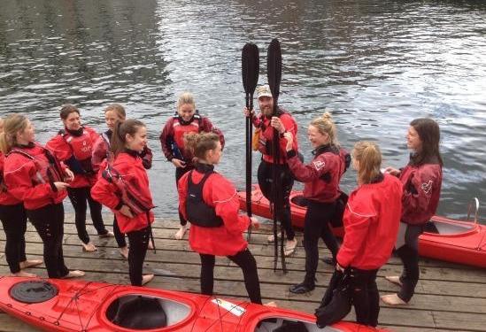 皮划艇环游哥本哈根运河海港