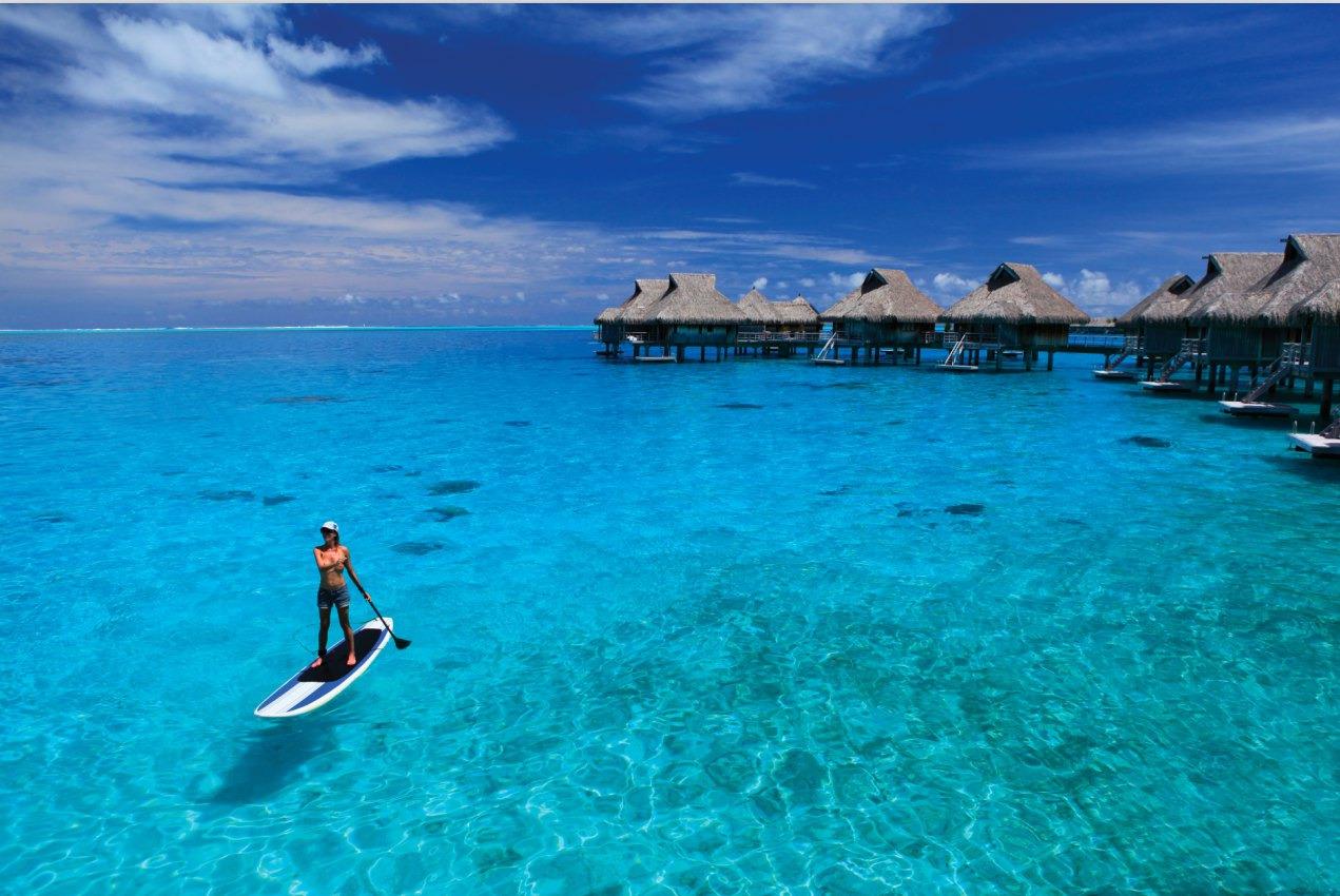 波拉波拉岛 度假村奢华之旅