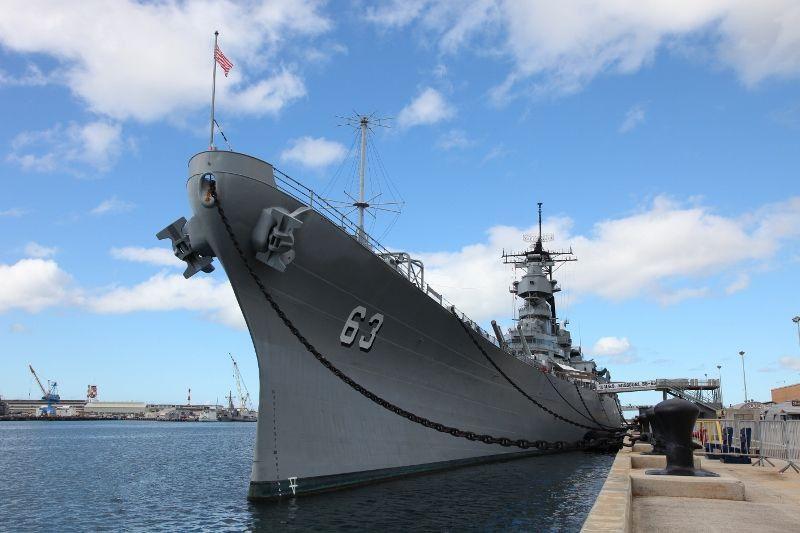 密苏里号战舰纪念馆