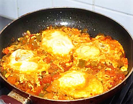 中东版番茄炒蛋 Shakshuka