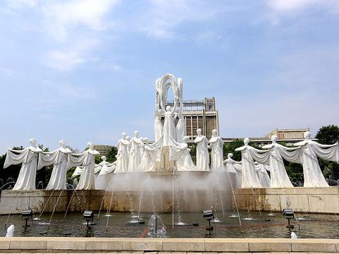 万寿台喷水公园旅游景点图片