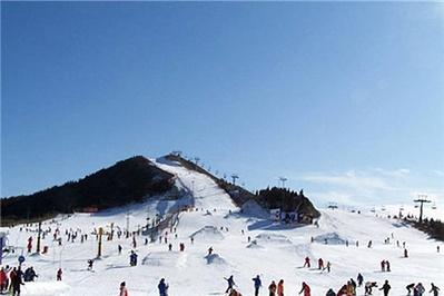 玉泉威虎山森林公园滑雪场