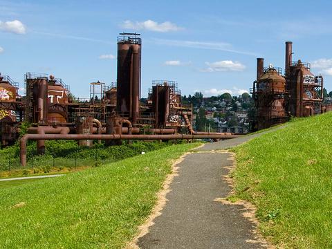 煤气厂公园旅游景点图片