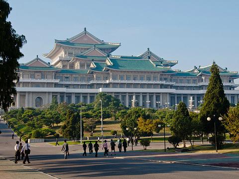 朝鲜国家图书馆旅游景点图片
