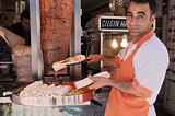 土耳其肉卷饼 Shawarma