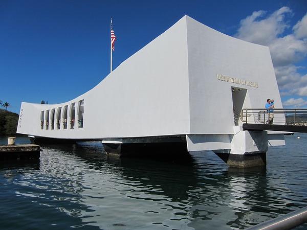 亚利桑那号战舰纪念馆
