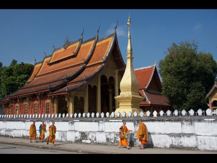 琅勃拉邦古城