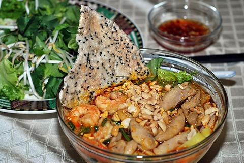 Hoang Dieu饮食街