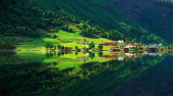 挪威的森林旅游图片